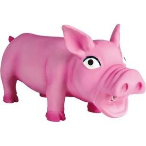 Игрушка TRIXIE Свинка хрюкающая 17см для собак (35490)