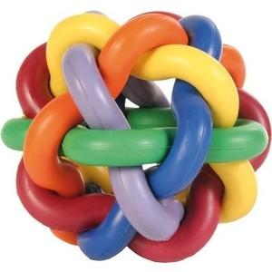 Игрушка TRIXIE Мяч плетеный 10см натуральный каучук для собак (32622)