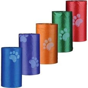 Пакеты TRIXIE цветные для уборки за животными для всех диспенсеров 3л х 14рулонов по 15шт в рулоне (23478) пакеты trixie цветные для уборки за животными для всех диспенсеров 3л х 14рулонов по 15шт в рулоне 23478