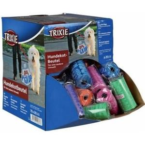 Пакеты TRIXIE цветные для уборки за животными всех диспенсеров 3л х 70рулонов по 20шт в рулоне (22843)