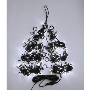 Light Светодиодная гирлянда на елку Пятиминутка 1.5м, зел. пр., белый светодиодная гирлянда