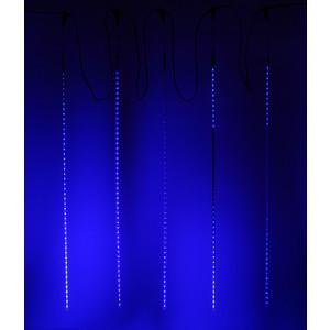 Light Комплект Тающие сосульки 24V, 5х1м, 480 Led, синий light комплект тающие сосульки 24v 5х0 3м 160 led синий