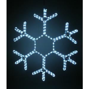 Light Снежинка светодиодная стандарт 0,5м, 220V, прозр. пр. белый
