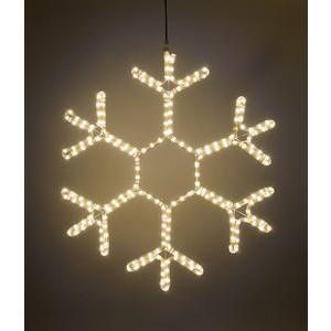 Light Снежинка светодиодная стандарт 0,5м, 220V, прозр. пр. тепл. белый