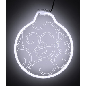 Светодиодная фигура Light Шар модель №3, 220V, белый light светодиодная фигура шар для системы legoled 24 белая d 0 3