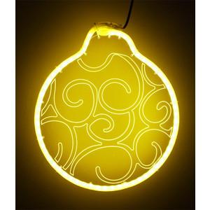 Светодиодная фигура Light Шар модель №3, 220V, желтый light светодиодная фигура шар для системы legoled 24 белая d 0 3