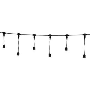 Light Комплект гирлянд Unibelt Cafe 3 (3 метра, 12 патронов, черный пр.)