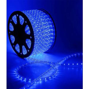 Light Дюралайт круглый 13мм фиксинг, к.р. направленный, синий