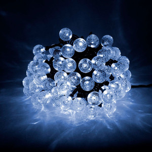 Гирлянда светодиодная Light Пузырьки 10м, 100 led, 220-230V., D23 мм синий