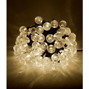 Гирлянда светодиодная Light Пузырьки 10м, 100 led, 220-230V., D23 мм тепл. белый фото