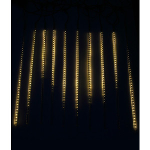 Light Комплект Тающие сосульки 24V, 10х0.8м, 840 Led., тепл. белый light комплект тающие сосульки 24v 5х0 3м 160 led синий