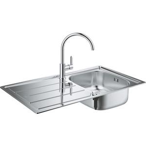 Фото - Комплект кухонной мойки Grohe K200 Sink Bundle 45-S со смесителем Bau Edge (31562SD0) readtrepreneur publishing summary bundle discipline
