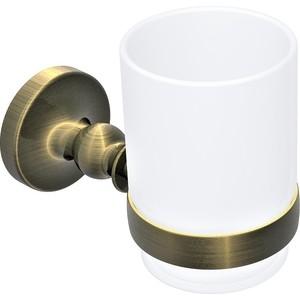 Стакан для ванны Rush Crete светлая бронза (CR35310) держатель для полотенец rush crete cr35531 бронза
