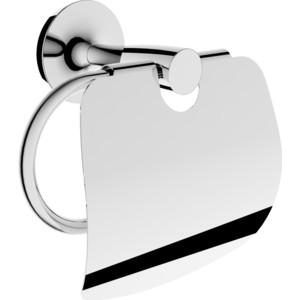 Держатель туалетной бумаги Rush Balearic с крышкой, хром (BA39111)