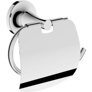 Держатель туалетной бумаги Rush Corsica с крышкой, хром (CO42111)