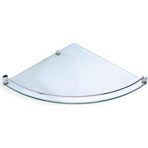 Полка стеклянная Rush Bianki хром (BI76611)