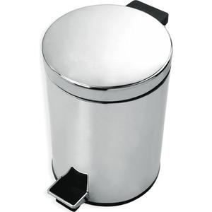 Ведро для мусора Rush Bianki 5л, хром (BI76920)