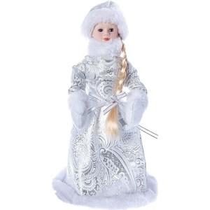 Снегурочка под ёлку Snowmen 30см, серебр. шуба