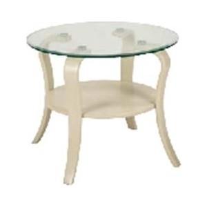 Стол журнальный Мебелик Аннетт стекло бежевое стол журнальный мебелик сакура 3 эко кожа венге
