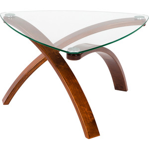 Стол журнальный Мебелик Гурон 3 вишня стол журнальный мебелик сакура 3 эко кожа венге