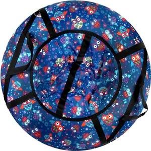 Тюбинг CК СК Люкс Pro Совята синие 92 2700961435207