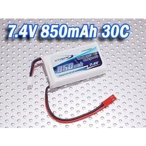 Фото - Аккумулятор Fullymax Li-Po 7.4V 850mAh 30C Xtreme - LP30C2S850 replacement 7 4v 30c 4200mah li poly battery pack for r c car model