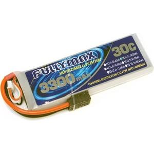 Аккумулятор Fullymax LiPo 11.1V 3300мАч 30C (Traxxas) - FB3300-30C-11.1V-WB все цены