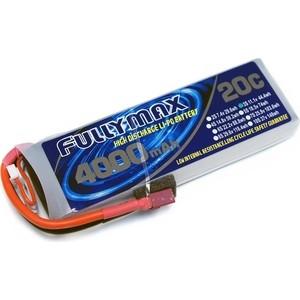 Аккумулятор Fullymax LiPo 11.1V 4000мАч 20C - FB4000XL-3S