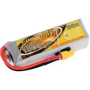 Аккумулятор Fullymax LiPo 14.8V 1800 мАч 80C - FB1800XT-4S