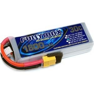 Аккумулятор Fullymax LiPo 14.8V 1800мАч 30C - FB1800HP-4S