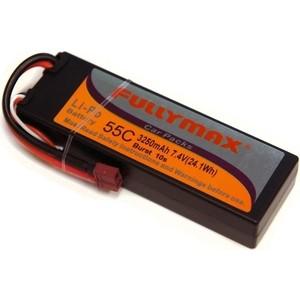 Аккумулятор Fullymax LiPo 7.4V 3250мАч 55C (в корпусе) - FB3250-55C-7.4V-WB