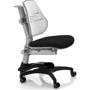 Кресло Mealux Comf-Pro Oxford C3 (C3-318) BW обивка сиденья черная, спинка пластиковая белая