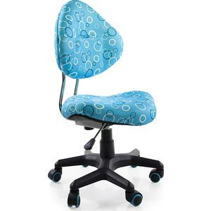 Кресло Mealux EVO Aladdin (Y-520) BS обивка голубая с кольцами