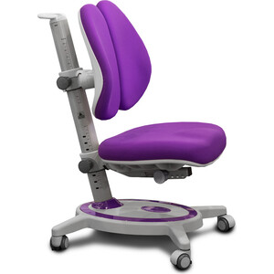 Кресло Mealux Stanford duo (Y-135) KS обивка фиолетовая однотонная