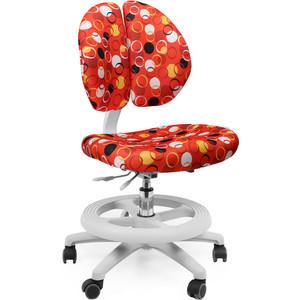 Кресло Mealux Duo-Kid Standart Y-616 R обивка красная с кольцами длинный газ.лифт