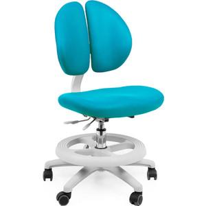 Кресло Mealux Duo-Kid Standart Y-616 KBL обивка голубая однотонная длинный газ.лифт