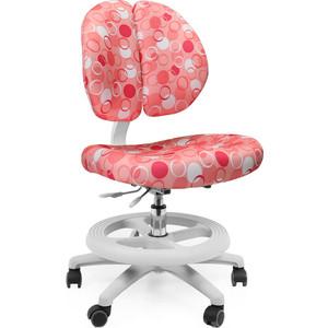 Кресло Mealux Duo-Kid Standart Y-616 Р обивка розовая с кольцами длинный газ.лифт