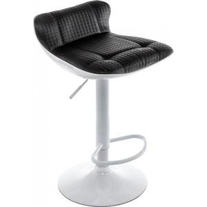 Барный стул Woodville Domus белый/черный