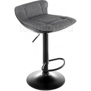 Барный стул Woodville Domus черный/серый барный стул woodville orion черный