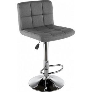 Барный стул Woodville Paskal grey fabric