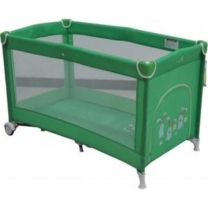 Манеж-кровать Mille SIMPLE, 60x120 см (green) G120S/green цены