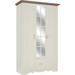 Шкаф трехстворчатый для одежды Атлант Латте 3