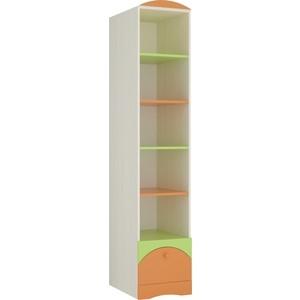 Стеллаж Атлант Карамель 81-01 бодега светлый/зеленый/оранжевый
