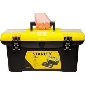 Ящик для инструментов Stanley Jumbo пластмассовый 19 (1 - 92 906)