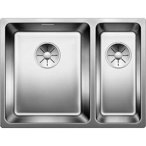 Кухонная мойка Blanco Andano 340/180-IF (522975) кухонная мойка blanco andano 340 if нерж сталь полированная без клапана автомата