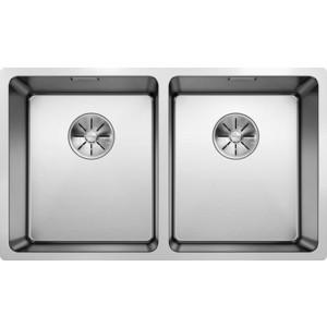 Кухонная мойка Blanco Andano 340/340-U (522983) кухонная мойка blanco andano 340 340 u infino зеркальная полированная сталь 522983