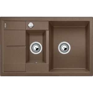 Кухонная мойка Blanco Metra 6 S Compact мускат (521891) мойка metra 6 s anthracite 513053 blanco