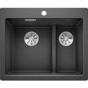 Кухонная мойка Blanco Pleon 6 Split антрацит (521689) цена