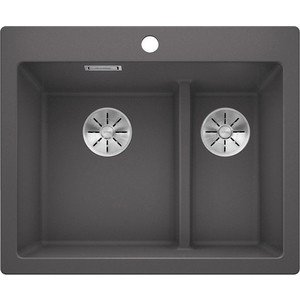 Кухонная мойка Blanco Pleon 6 Split темная скала (521690)