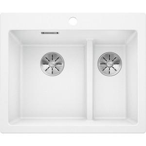 Кухонная мойка Blanco Pleon 6 Split белый (521693) цена
